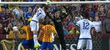 Cahill levels 2-2 against Barcelona – 2015 International Champions Cup Highlights