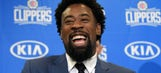 DeAndre Jordan jokes: 'Only thing that Doc promised me was an extra $8M'