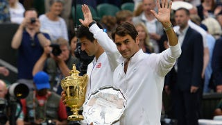 Federer falls to Djokovic in Wimbledon Final