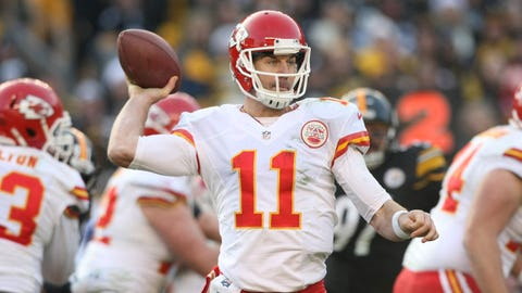 Thursday night: Raiders at Chiefs