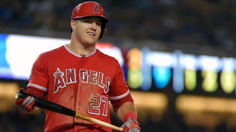 For Mike Trout to make it to the postseason