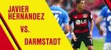 Javier Hernandez: Bayer Leverkusen vs. Darmstadt: Best of All Touches – 2015–16 Bundesliga Highlights