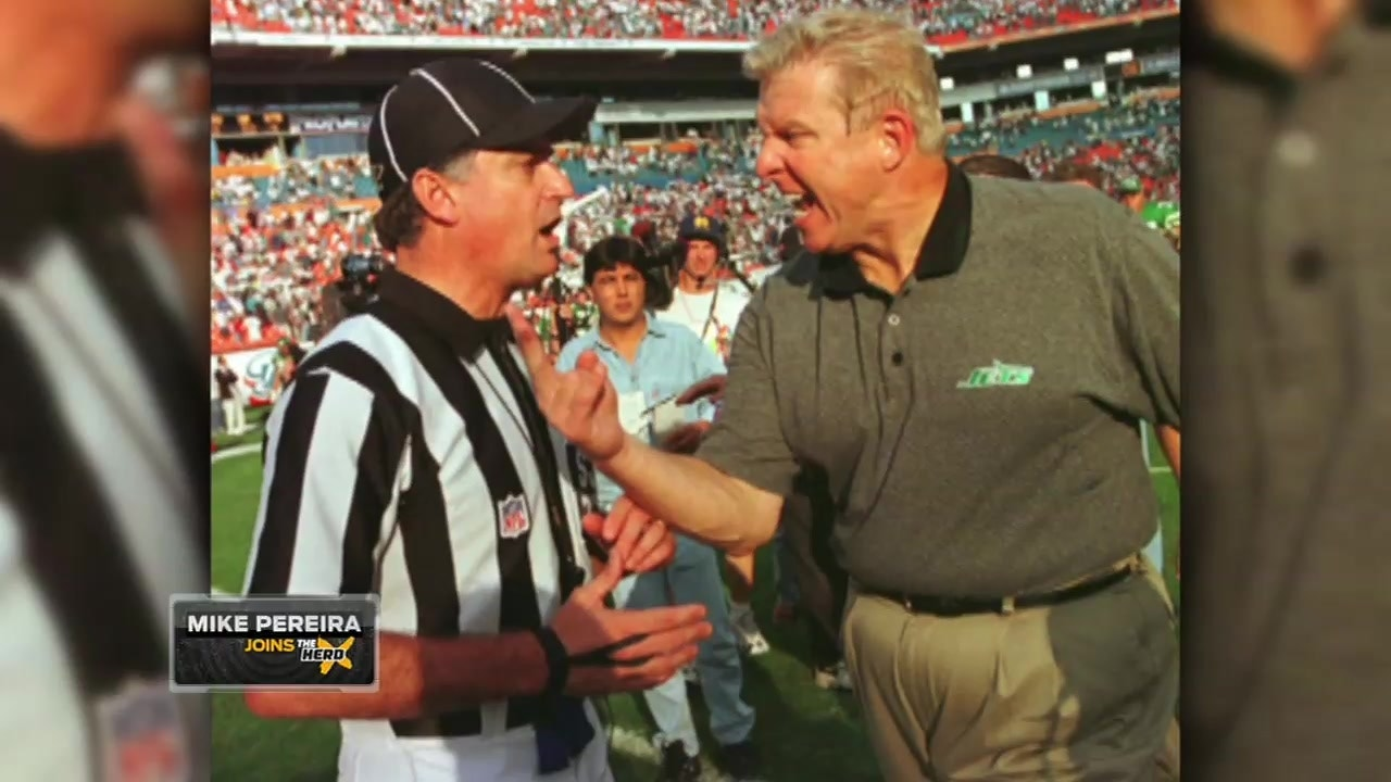 Mike Pereira had an interesting incident with Bill Parcells – 'The Herd'