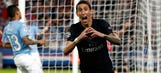 Di Maria goal opens scoring for PSG against Malmo – 2015–16 UEFA Champions League Highlights