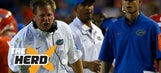 Jim Mora on Jim McElwain's sideline tirade – 'The Herd'