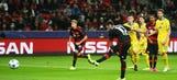 Calhanoglu gives Bayer Leverkusen 2-1 lead – 2015–16 UEFA Champions League Highlights