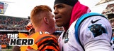 Cam Newton vs. Andy Dalton is not even close – 'The Herd'