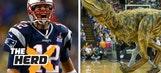 Cowherd thinks Tom Brady is like an incredibly cool dinosaur – 'The Herd'