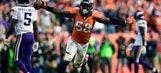 Vikings show grit, but Broncos defense prevails