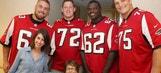 Atlanta Falcons make special hospital visit