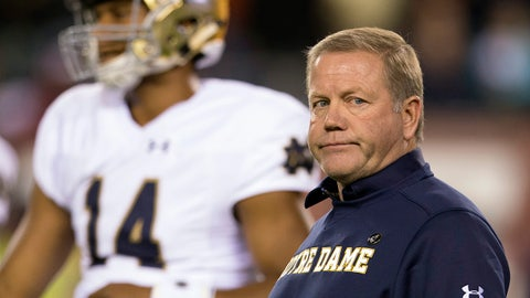 Notre Dame vs. Army (Saturday, 3:30 p.m. ET)