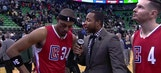 Paul Pierce, JJ Redick talk Clippers' resolve in win without Blake Griffin