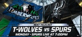 Spurs Live preview: T-Wolves coming to town