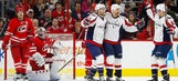 Hurricanes suffer 2-1 loss to Capitals