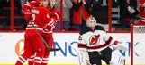Two late goals push Hurricanes past Devils