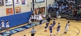 Clemson football recruit throws down awesome alley-oop in hoops game