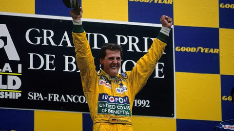 1. 1992 Belgian GP