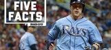 Five Facts: Tampa Bay Rays' Brandon Guyer