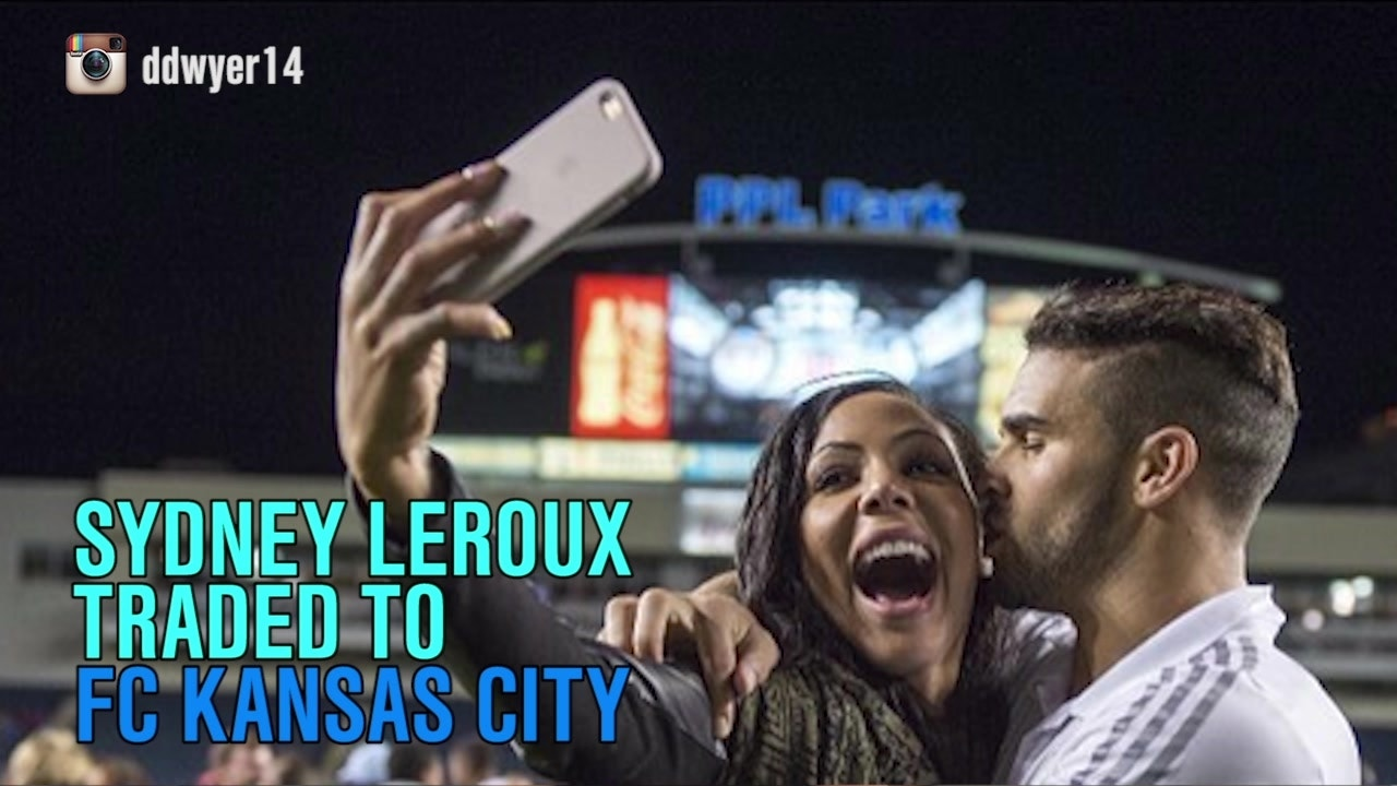 Sydney Leroux joins Dom Dwyer in Kansas City
