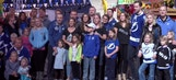 Lightning mingle with fans at Bolts Family Carnival