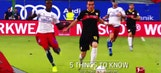 5 things you need to know: VfB Stuttgart vs. Hamburger SV