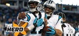 Tony Gonzalez likes the way Cam Newton is maturing in the NFL – 'The Herd'
