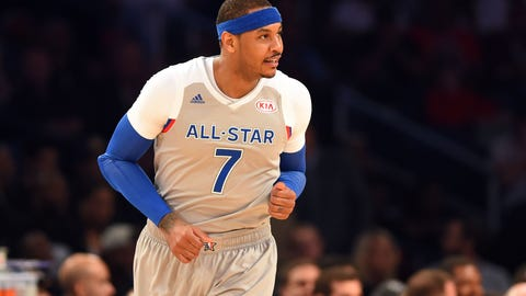Carmelo Anthony: 10-time All-Star