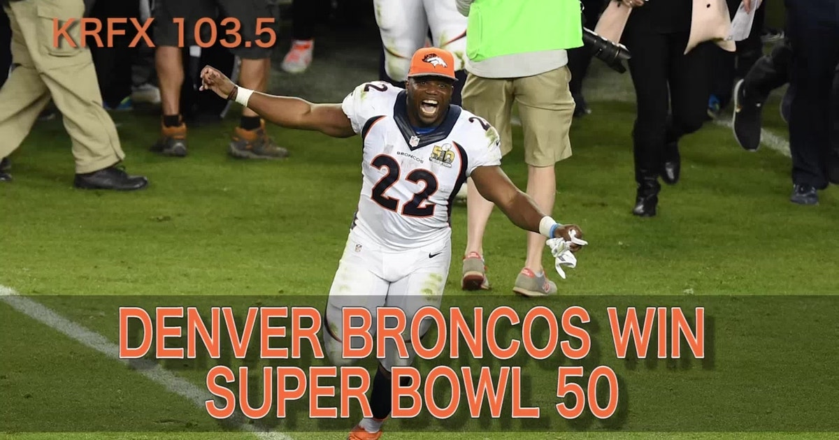Listen To The Super Bowl 50 Winning Call From The Broncos