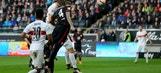 Niedermeier extends Stuttgart lead against Eintracht Frankfurt    2015–16 Bundesliga Highlights