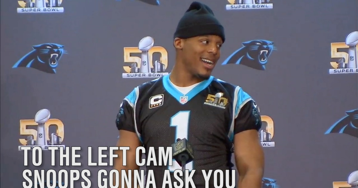 finest selection 91a9f a4be6 Snoop Dogg had the best questions for Cam Newton on Thursday