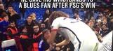 David Luiz hands Chelsea fan his game-worn wristbands
