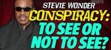 Stevie Wonder may not really be blind – 'TMZ Sports'