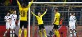 Reus doubles Dortmund's advantage against Spurs | 2015-16 Europa League Highlights