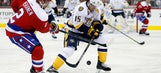 Forsberg stays hot, but Predators fall to Capitals