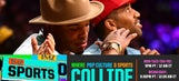 Cam Newton channels his inner-Pharrell at Lakers game – 'TMZ Sports'