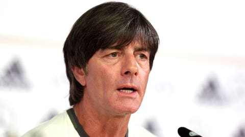 Joachim Loew isn't prioritizing winning