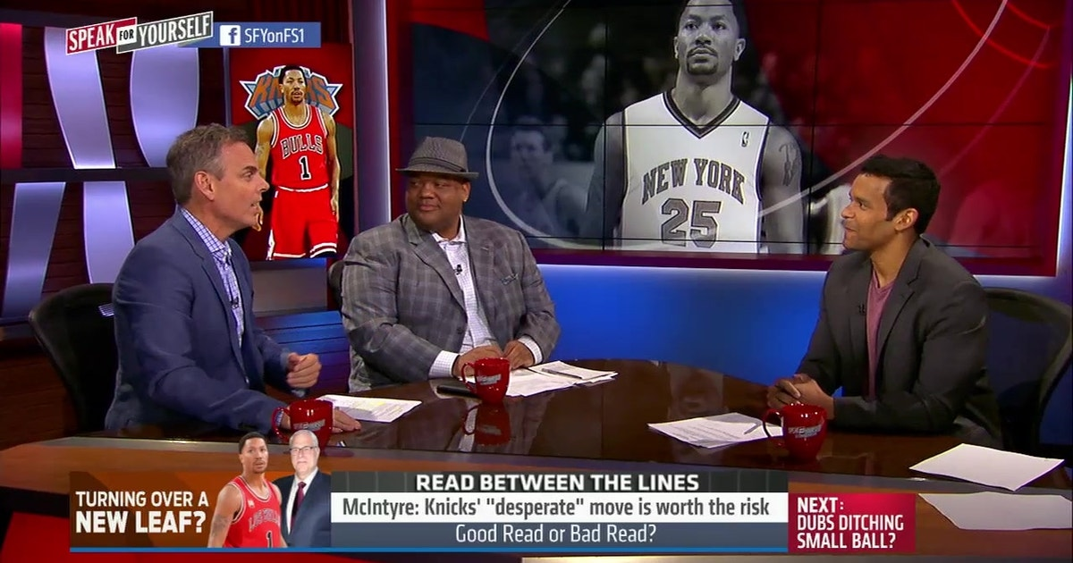 3b42a9df716 The Knicks made a desperate move to get Derrick Rose -  Speak for Yourself