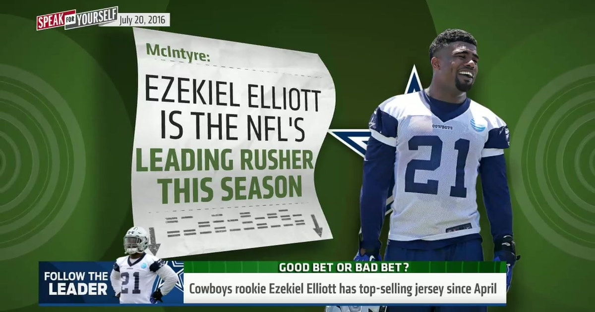 8d51d3fcdaa Here's why Ezekiel Elliott could be the NFL's top rusher in 2016 - 'Speak  for Yourself' | FOX Sports