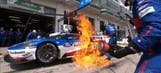 WEC: No. 67 Ford GT Pit Fire – 2016 6 Hours of Nurburgring