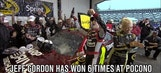 Jeff Gordon Holds Win Record at Pocono