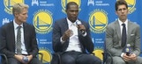 Durant on OKC breakup: 'Hardest thing I've had to do in my life'