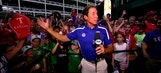 Rangers Live: Fan Express on hand for finale against Oakland
