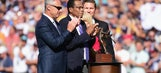 Dick Enberg honors Rod Carew, Tony Gwynn at the All-Star Game