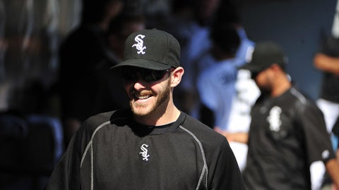 CHICAGO, IL - MAY 23: Chris Sale #49 of the Chicago White Sox before a game against the Cleveland Indians in the first game of a doubleheader on May 23, 2016 at U. S. Cellular Field in Chicago, Illinois. (Photo by David Banks/Getty Images)