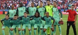 Euro volunteer crashes Portugal team photo