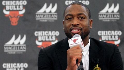 Chicago Bulls: Dwyane Wade, 34