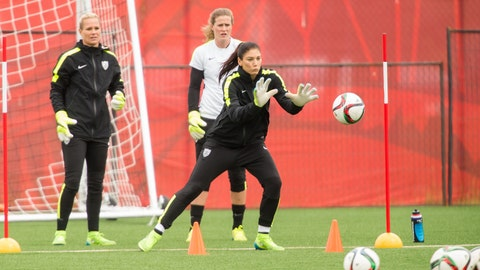 Will other goalkeepers get a look and who will replace Hope Solo?