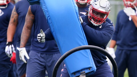 Malcolm Brown - DT - New England Patriots