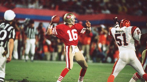 Super Bowl XXIII: Joe Montana vs. Boomer Esiason