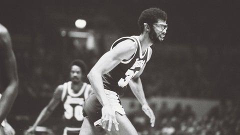 NBA: Kareem Abdul-Jabbar, Los Angeles Lakers, 1975-76